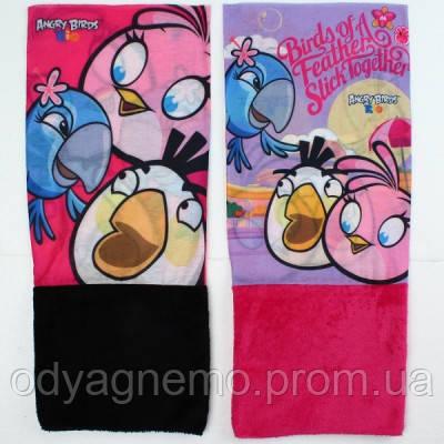 Шарфики для девочек Angry Birds оптом.