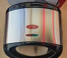 Бутербродница гриль (сэндвичница) WimpeX WX-1047, фото 2