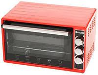 Электродуховка SATURN ST-EC 1073 Red (33л) (антипригарное покрытие)