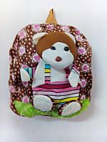Детский рюкзак Мишка коричневый