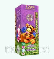 Детское массажное масло с экстрактом алое 100 мл.
