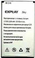Оригинальная батарея Explay SKY