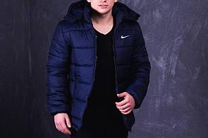 Куртка Nike (Найк) PROMO, темно-синяя