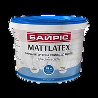 Краска интерьерная для стен и потолков «Mattlatex» (Байрис) 7 кг.