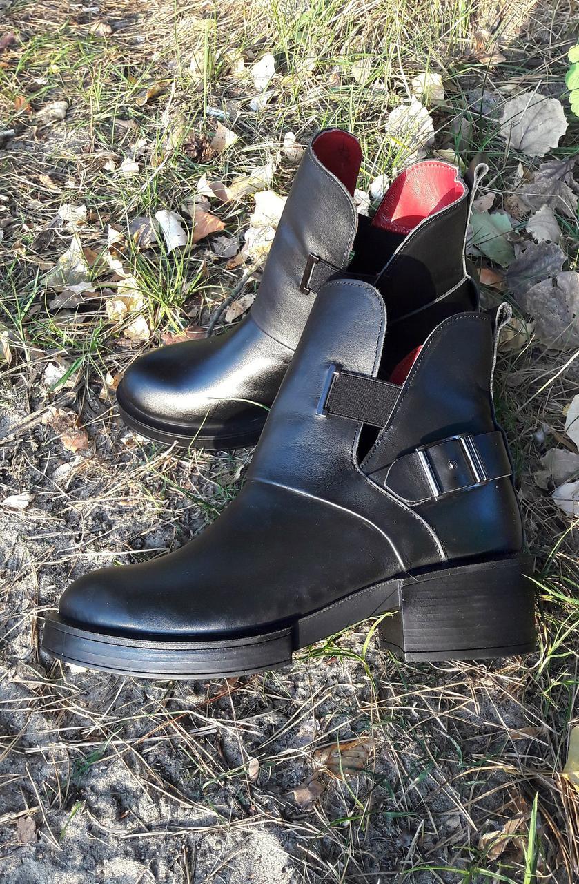 acf482a0 Женские кожаные черные ботинки низкий ход Diesel - ГЛЯНЕЦ |  Интернет-магазин КОЖАНОЙ обуви с