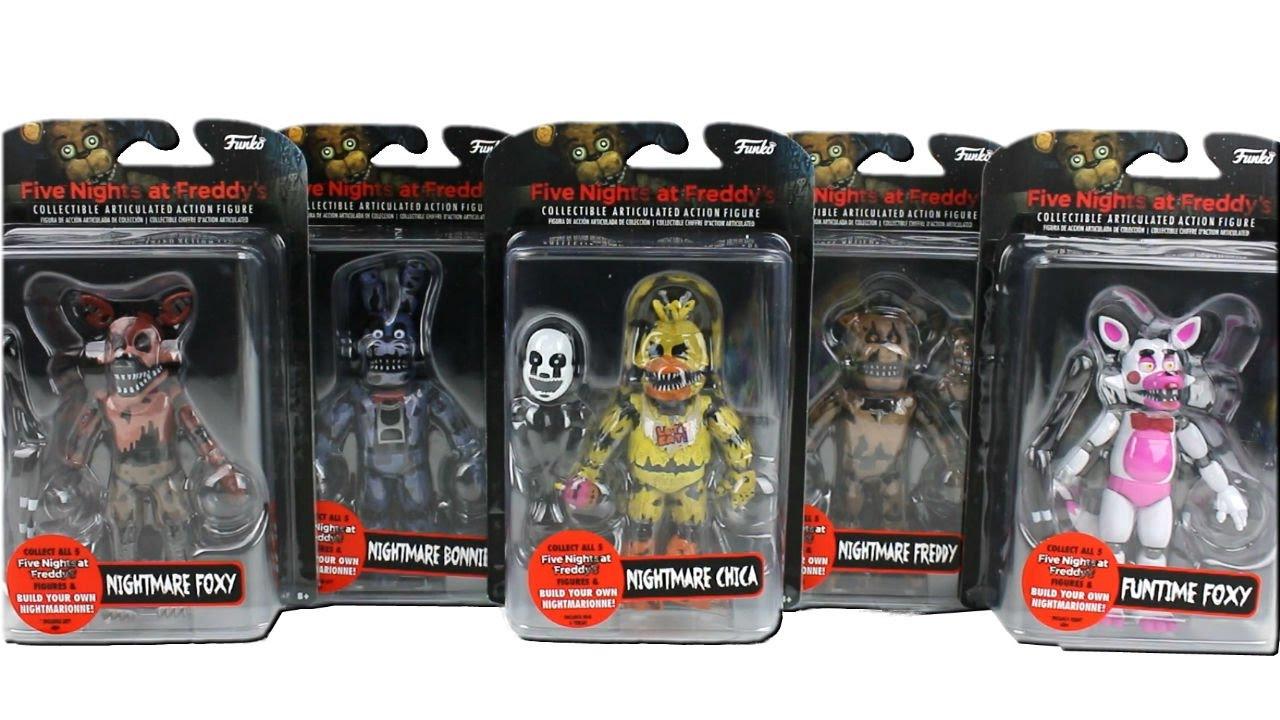 5 Фигурок Five Nights at Freddy's - 15 cм.