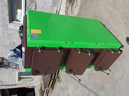 Котел твердотопливный длительного горения SteelArt SA-38 кВт