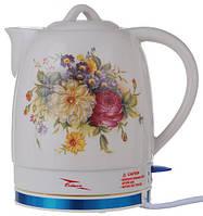 Электрочайник керамический Octavo 2 л 1800 Вт чайник электрический, фото 1