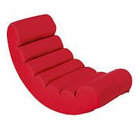 Кресло качалка Тукс красный цвет