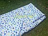 Постельный набор в детскую кроватку байковый (3 предмета), Кораблики