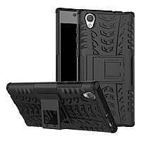 Чехол Sony Xperia L1 / G3311 / G3312 / G3313 противоударный бампер черный