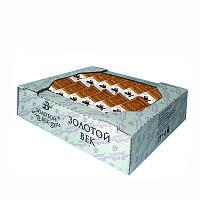 Халва подсолнечная ванильная в шоколадной глазури Золотой Век 1.5 кг