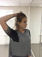 Спортивная женская футболка  р-р S-M-L