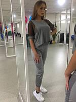 Спортивная женская футболка, спорт  р-р S-M-L