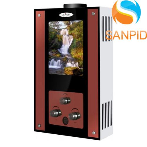 Газова колонка Dion JSD 10 дисплей (водоспад)