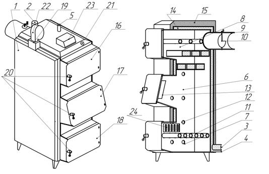 Теплообменник колосниковый теплообменник для x5 e70