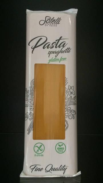 Паста Спагетти из кукурузы без глютена и казеина Sotelli 500г