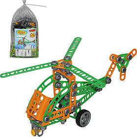 Конструктор Изобретатель - Вертолет №1 (130 эл в пакете) 55026
