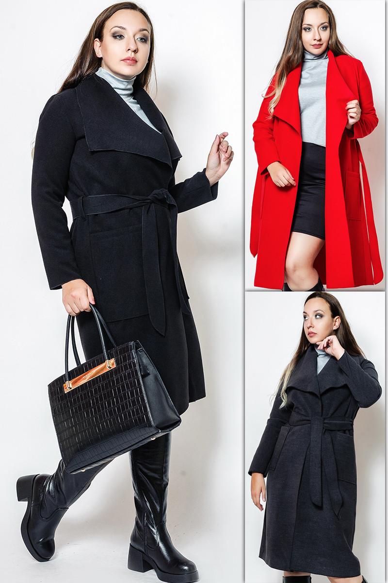 "Пальто жіноче БАТАЛ ""Барселона"""