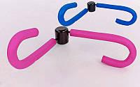 Эспандер бабочка 2097, 2 цвета: тренажер для укрепления бедер и мышц груди