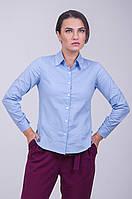 Сатиновая женская блузка
