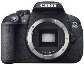 Фотоапарат Canon EOS 700D Body