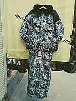 Зимний костюм Камыш Белый для охоты и рыбалки