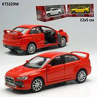 "Машина металлическая""Kinsmart"", арт KT5329W ""Mitsubishi Lancer Evolution X"""