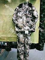 Зимний  камуфляжный костюм Соты для охоты и рыбалки