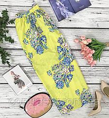 Женственная юбка-макси Atmosphere с ярким цветочным принтом  KI42126