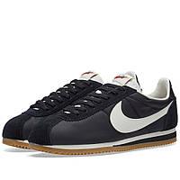 Оригинальные кроссовки Nike Classic Cortez Nylon Premium Black, Sail