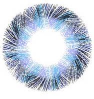 Голубые ( синие ) контактные увеличивающие линзы для глаз