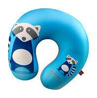 """Антистрессовая игрушка мягконабивная, подушка"""", енот, голубая, 28*28см Danko Toys"""