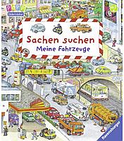 """Детская книга Виммельбух """"Найди и покажи: Транспорт"""", Sachen suchen: Meine Fahrzeuge"""