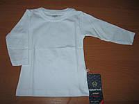 Детская футболка с длинным рукавом для деток 1 - 2 года Турция коттон