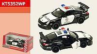 "Машина металл ""KINSMART"" KT5352WP (96шт/4) ""Porsche 911GT3 RS (Police)"""