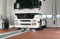 1 Роликовый стенд RBT/C FW -2V- для проверки тормозных систем грузовых и легковых автомобилей