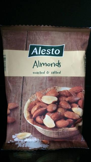 Миндальный орех, Alesto Almonds 150г