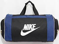 Сумка NIKE текстильная спорт черный с синим