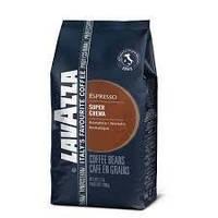 Кофе в зернах Lavazza Esppesso Super crema 1кг лавацца