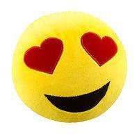 Мягкая игрушка антистресс SOFT TOYS «Смайл влюбленный» Danko Toys