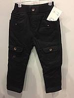 Теплые коттоновые брюки для мальчика 104 см, фото 1