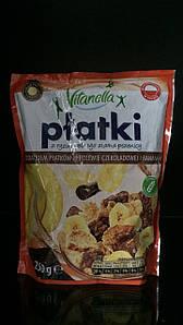 Завтрак рисово-пшеничный Vitanella Platki с бананом и шоколадом 250 г.