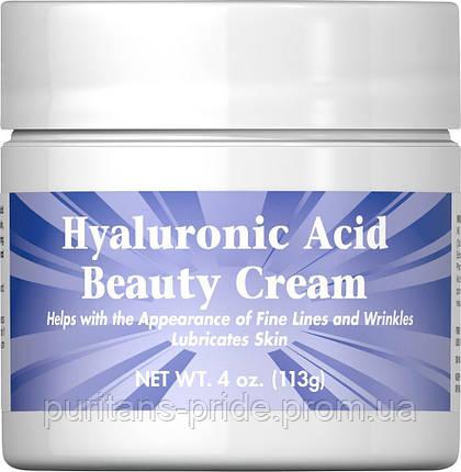 Puritan's Pride Hyaluronic Acid Beauty Cream 4 oz 113g, фото 2