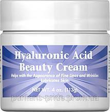 Puritan's Pride Hyaluronic Acid Beauty Cream 4 oz 113g