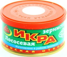 Икра кеты сик (с/б), 140 г