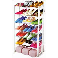 Органайзер для обуви Amazing shoe rack (7 полок) - лучший органайзер для обуви