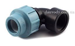 """Колено 20х1/2"""" резьба внутренняя для полиэтиленовых пнд труб (Santehplast)"""