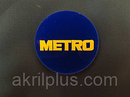 Жетоны с логотипом