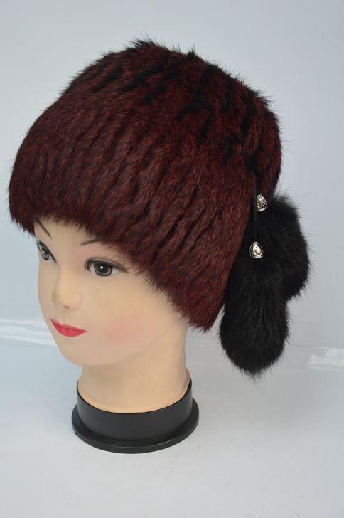 Натуральная меховая женская шапка